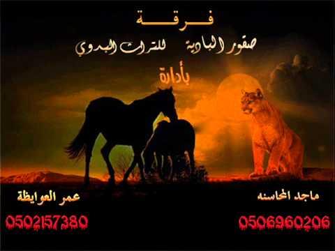 دحيه تراث بدوي فرقة صقور البادية 2010