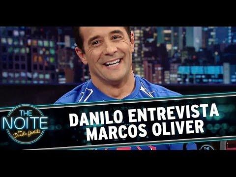 The Noite 05/06/14 (parte 1) - Entrevista Marcos Oliver