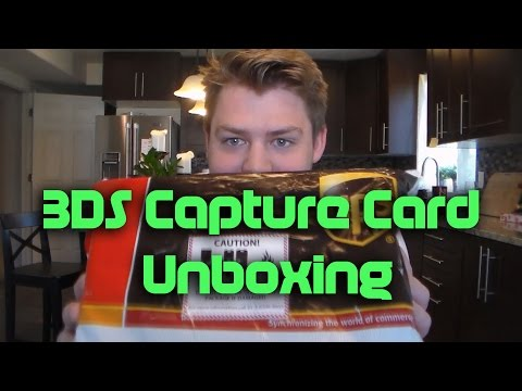 KatsuKity's New 3DS XL Capture Card Unboxing and Setup Tutorial!