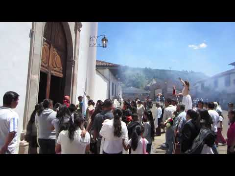 Easter Procession in Santa Clara del Cobre