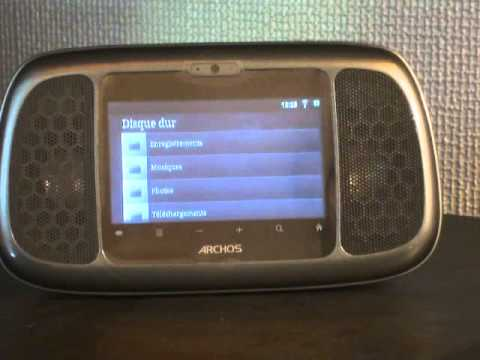 Archos 35 home connect.wmv