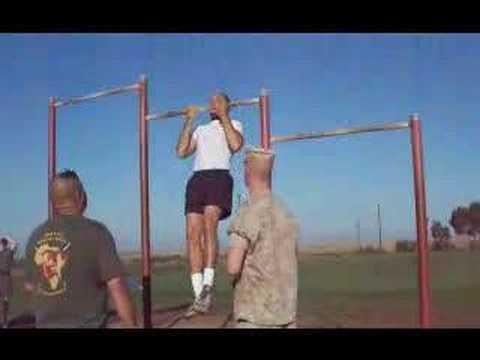 Al Moreno Marine Corps Physical Fitness Test (PFT)