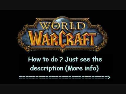 world of warcraft logo generator. World of Warcraft Game Card