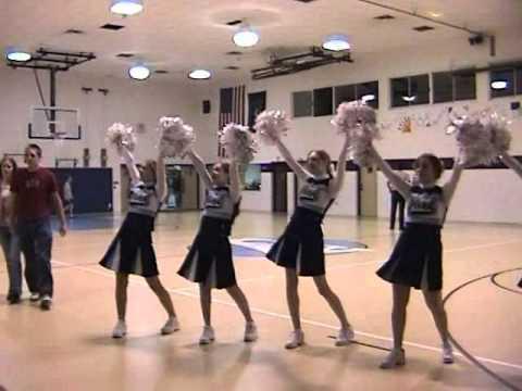 Christian School of York Pennsylvania cheerleading squad 2006 - 2007 montage