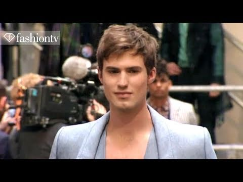 John Paul Gaultier Show ft Rob Evans - Paris Men's Fashion Week Spring 2012 | FashionTV - FTV.com