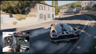 Forza Horizon 2 PlayThrough Pt2 Drifting - Koenigsegg Agera w/Wheel Cam