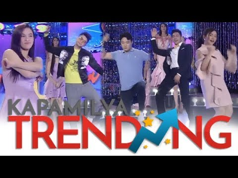 Ate Girl Jackque, Vhong, Ryan, Kuya Escort Ion at Mariel sumabak sa SWITCH IT UP DANCE CHALLENGE!!