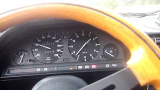 Driving My BMW 316 1986 Project car
