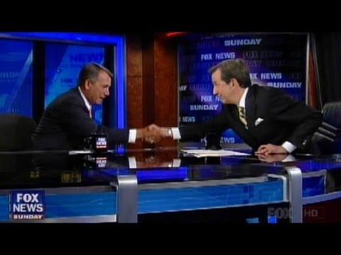 Fox News Sunday - December 2, 2012 - Speaker John Boehner on the Fiscal Cliff