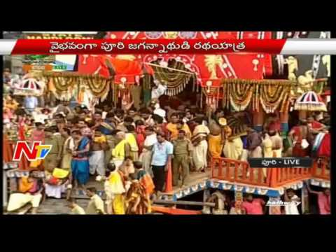 Lord Jagannath's Rath Yatra In Puri   Live Updates   NTV
