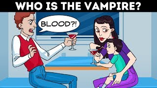 16 VAMPIRE RIDDLES AND LOGIC PUZZLES WITH ANSWERS!
