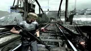 Resident Evil 6 Mercenarios (Sin piedad) - Steel Beast (Leon Mod RE4 model V2 - Ranking S) [PC]