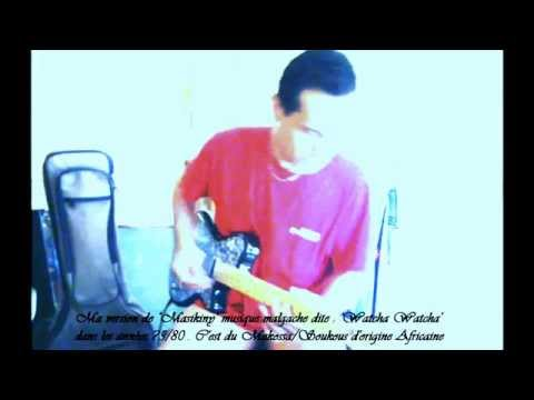 Guitare watcha-watcha (madagascar) video