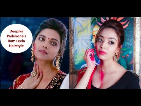 Deepika Padukone Inspired Ram Leela Hairstyle (Hindi)