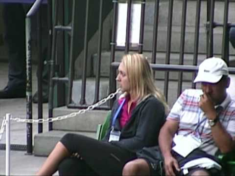 Elena Vesnina in Toray PPO 2009 Video