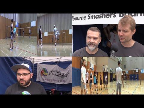 Bent TV: Queue Sport (Melbourne Smashers Badminton Club, Melbourne Spikers Volleyball), 24JUL15