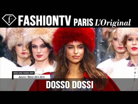 Irina Shayk At Dossi Dossi Fall winter 2014-15 Fashion Show | Fashiontv video