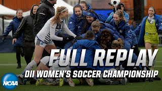 Grand Valley State v. Western Washington: Full replay of 2019 NCAA DII women's soccer championship