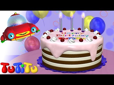 TuTiTu Happy Birthday Cake