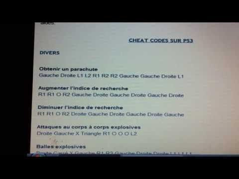 GTA 5 - List of CHEAT CODES ! Xbox 360 & ps3 !!! -Planes, Cars : MORE ...