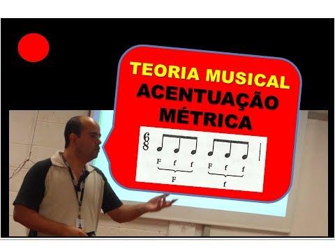 Acentuação Métrica nos tempos e nas subdivisões - CCB Teoria Musical
