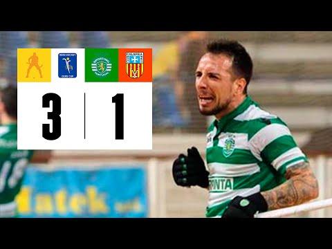 Hoquei Patins :: Sporting - 3 x Calafell - 1 de 2014/2015 Taça Cers 2ª mão 1ª eliminatória