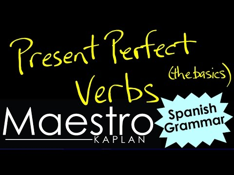 Present Perfect Formula Forming The Present Perfect in