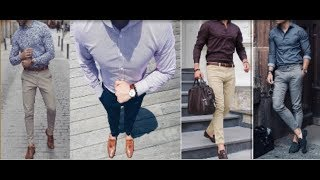 Latest Men's Formal Shirt Pant Fashion 2018 | Best Formal style 2018 | Perfect Beauty Light