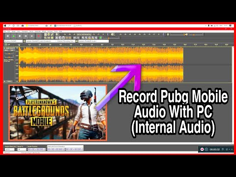 RECORD INTERNAL AUDIO OF MOBILE WITH AUX AND PC | RECORD PUBG AUDIO WITH 3.5MM AUX CABLE BY AUDACITY