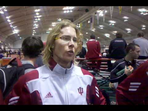 Indiana DMR runs NCAA Leader 9:29.12
