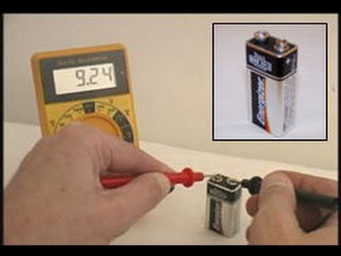 how to test a 9 volt battery technical training for. Black Bedroom Furniture Sets. Home Design Ideas