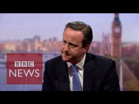 "David Cameron: SNP in Westminster is a ""frightening prospect"" - BBC News"