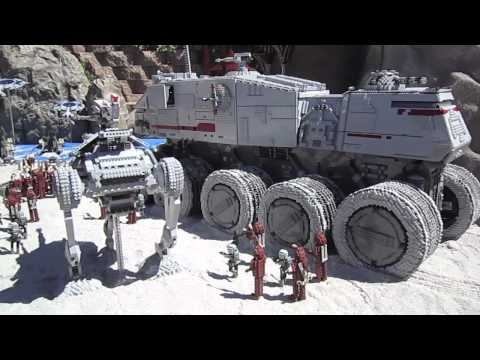 Legoland California - Star Wars miniland grand opening