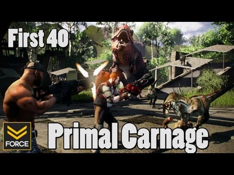 First 40 - Primal Carnage (Gameplay)