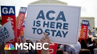 President Obama Defends Obamacare, Meets With Democrats | MSNBC