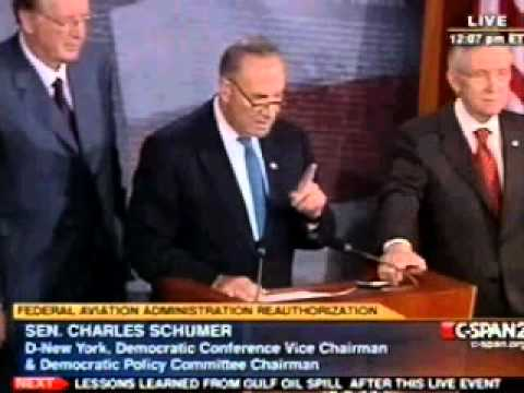 Chuck Schumer uses gun to the head