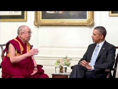 Barack Obama Dalai Lama ile Çin'i konuştu