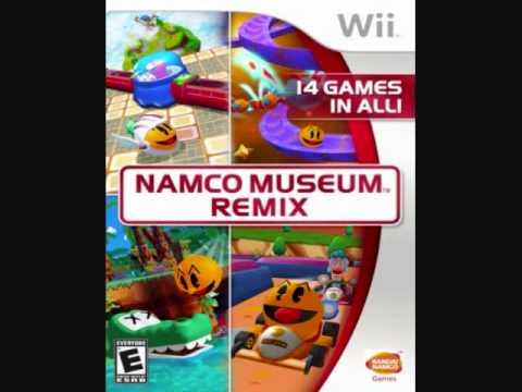 Namco Museum Remix Soundtrack - Galaga & PacMotos FINAL BOSS