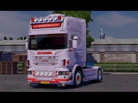Scania Streamline Mega Mod Tuning +Download ETS2 (Euro Truck Simulator 2)