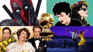2017 Golden Globes Nominees Best Motion Picture - Musical or Comedy