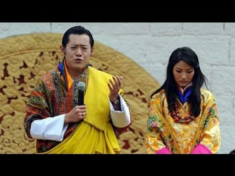 Bhutan's first couple in India
