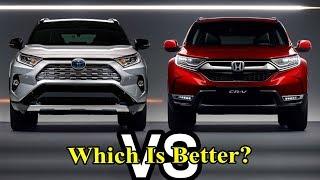 2019 Honda CR-V vs 2019 Toyota RAV4: Which Is Better? #CCarsShows #Carsdonate