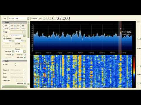 RTL2832 ricevitore HF  0-30 Mhz direct sampling, SSB-CW-AM-FM,  I6IBE  Ivo Brugnera, Pratola Peligna