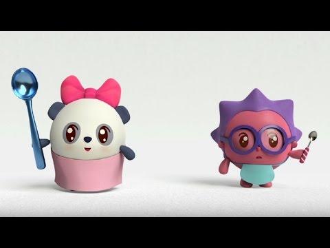 Малышарики - Умные песенки - Большое и маленькое - мультфильм для самых маленьких