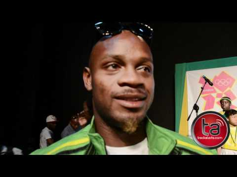 Asafa Powell explains running 2012 Indoor