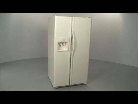 How to Remove Frigidaire Refrigerator/Freezer Doors