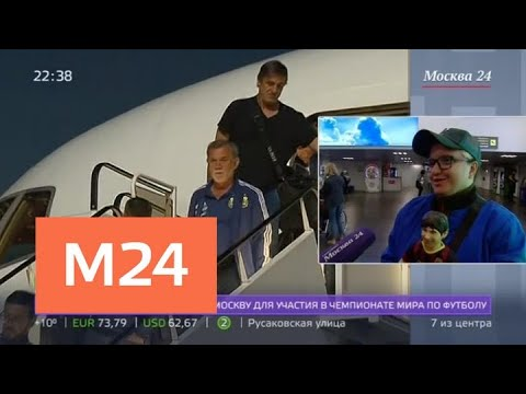 Сборная Аргентины прилетела в Москву на ЧМ-2018 - Москва 24