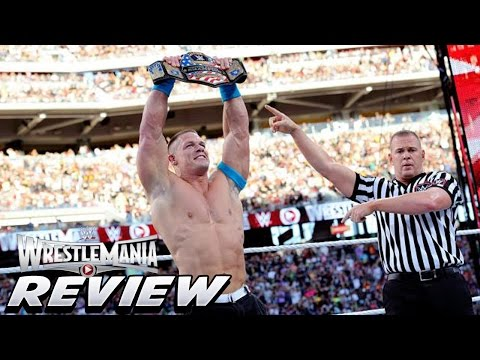 WrestleMania 31 Full Show Review John Cena Wins US Title Seth Cashes In Bryan Wins IC Title