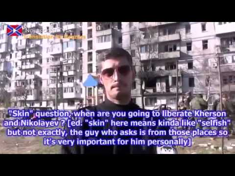 War in Ukraine / New interview with Givi about situation