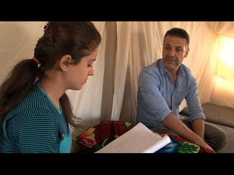 Iraq: Khaled Hosseini Visits Syrian Refugees